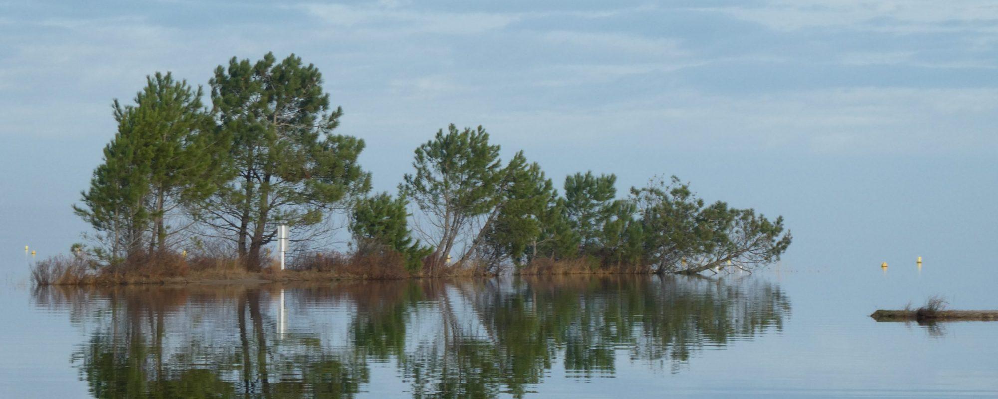 Grand lac à Navarrosse